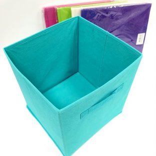 קופסאת בד לאחסון צבעוני