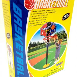 מעמד כדורסל עם כדור