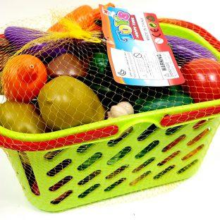 סלסלאת פירות וירקות למשחק